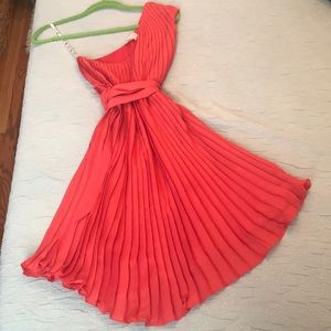 Frock by Tracy Reese pleated dress size P